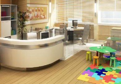 recepção de clínica psicopedagógica