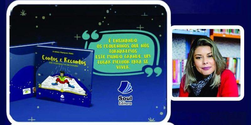 livro contos e recontos de Andreia Marques