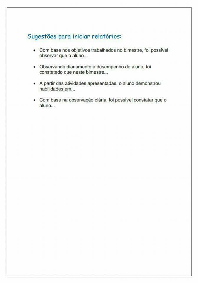 Avaliação Psicopedagógica Sugestões Para Imprimir Iªparte Blog