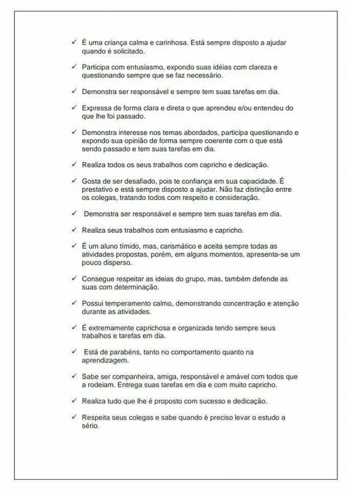 Avaliação Psicopedagógica Sugestões Para Imprimir Iªparte
