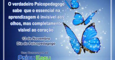 12 de novembro dia do psicopedagogo