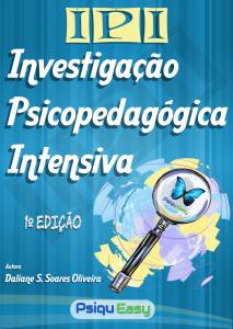 Capa IPI Investigação Psicopedagógica Intensiva