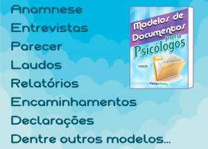 Apostila com mais de 70 Modelos de Documentos para Psicólogos