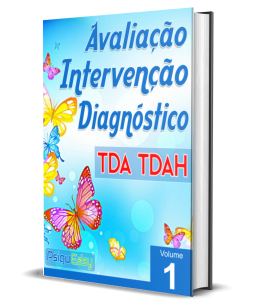 Capa TDA - TDAH - Avaliação, Intervenção e Diagnóstico - Vol. 01