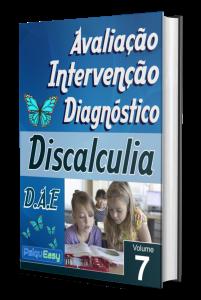 Capa Discalculia – Avaliação, Intervenção e Diagnóstico – Vol. 07