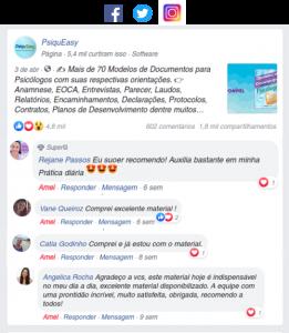 Comentários sobre os materiais da PsiquEasy