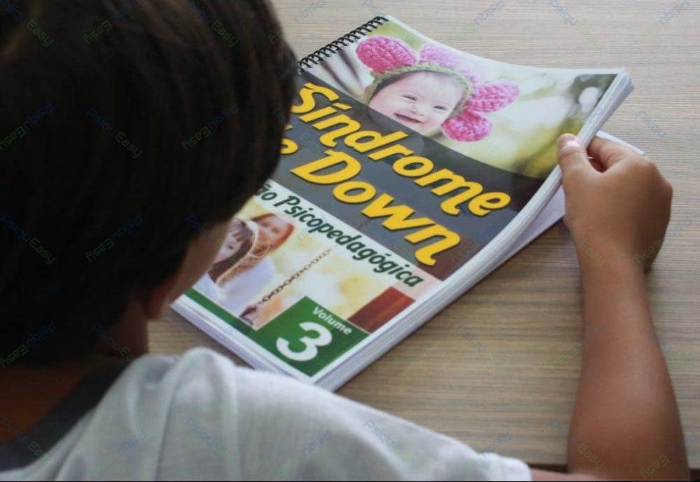 Impresso Intervenção Psicopedagógica – Síndrome de Down Volume 03