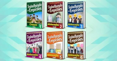 coleção Trabalhando as Emoções Crianças e Adolescentes 6 volumes