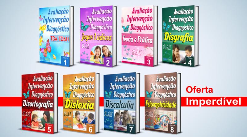 Coleção Avaliação, Intervenção e Diagnóstico para Psicopedagogia