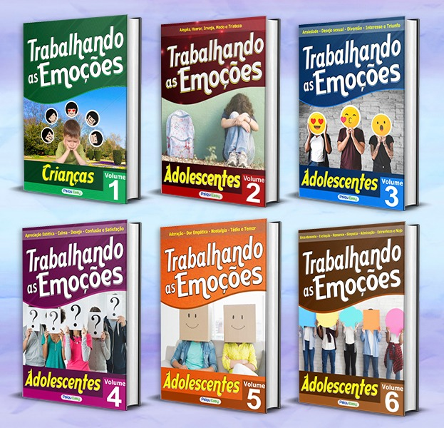 Coleção Trabalhando as Emoções 06 volumes