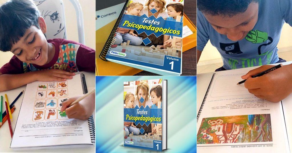 TESTES PSICOPEDAGOGICOS VOL 1