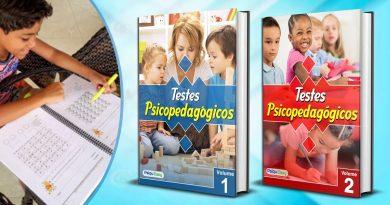 Testes Psicopedagógicos vol 01 e 02