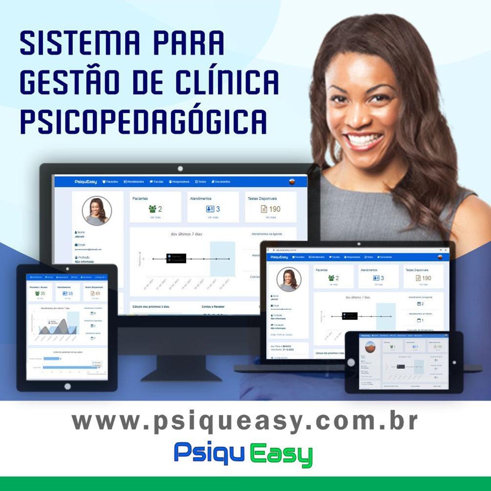 Sistema para Gestão de Clinica Psicopedagógica