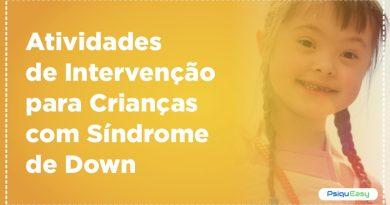 Atividades de Intervenção para crianças com Síndrome de Down