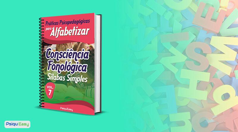 PPpA Consciência Fonológica Sílabas Simples vol07 capa blog
